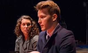 Dave Thomas Brown is broodingly German as Melchior in Cygnet Theatre's SPRING AWAKENING