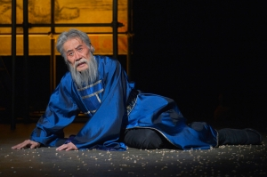 Sab Shimono in La Jolla Playhouse's production of THE ORPHAN OF ZHAO Photo by Kevin Berne