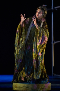 Marie-France Arcilla in La Jolla Playhouse's production of THE ORPHAN OF ZHAO photo by Kevin Berne.