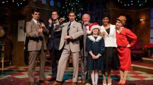 """The cast of """"Miracle on 34th Street' by San Diego Musical Theatre."""